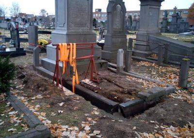 Grafrestauratie   Repair Projects