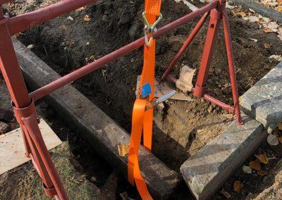 Restauratie graven en grafstenen   Repair Projects   West-Vlaanderen